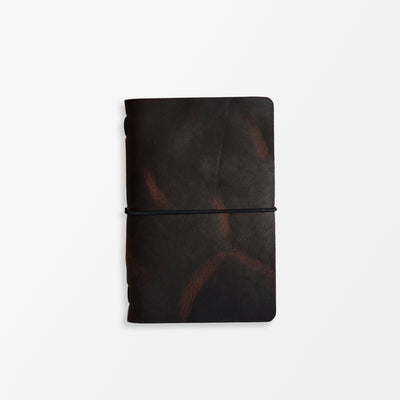Pioneer Pocket Journal - Horween Nut Brown - Grierson Studio