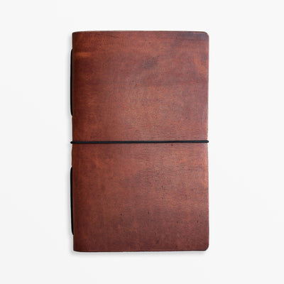 Pioneer Pocket Journal - Horween Cognac - Grierson Studio