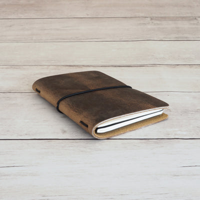 Pioneer Pocket Journal - Rustic Brown - Grierson Studio