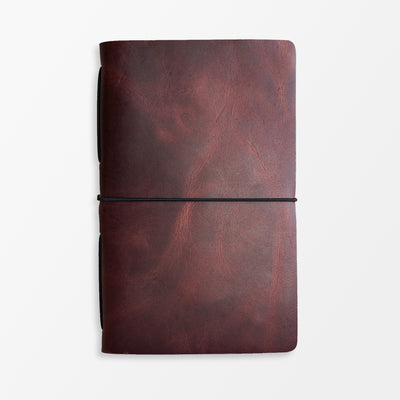 Pioneer Extra Small Journal - Smooth Cherry - Grierson Studio