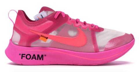 44729ac0d03da Buy Nike Zoom Fly Off-White Pink For Sale – authentechs.com