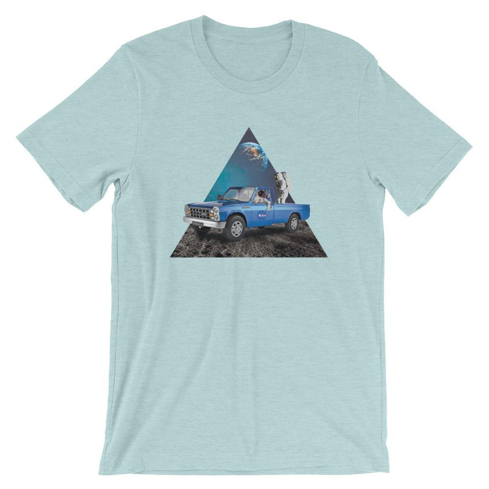 Zamyad - Heather Prism Ice Blue / Xs - T-Shirt Geev Thegeev.com