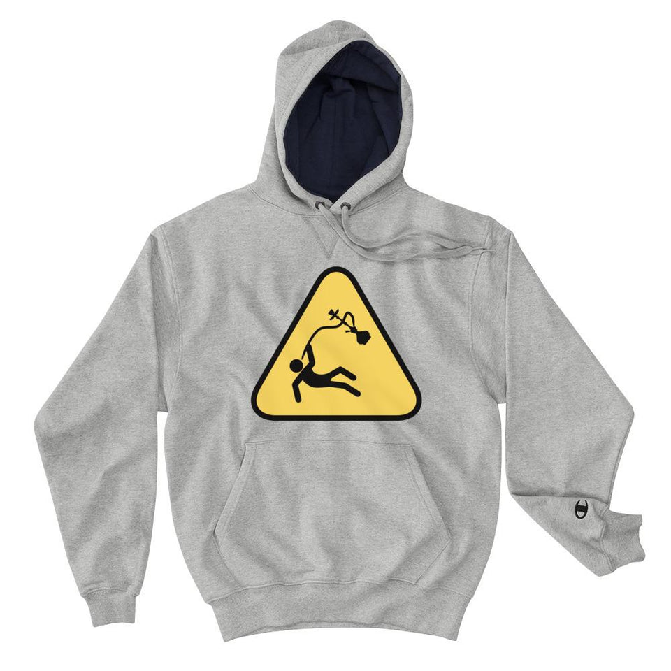 Hookah Alert (Champion Edition) - Light Steel / S - Hoodie Geev Thegeev.com