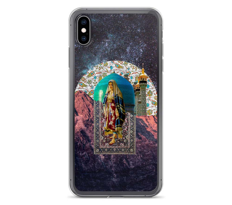 illusion - Qajar - Persian iPhone case - thegeev - geev