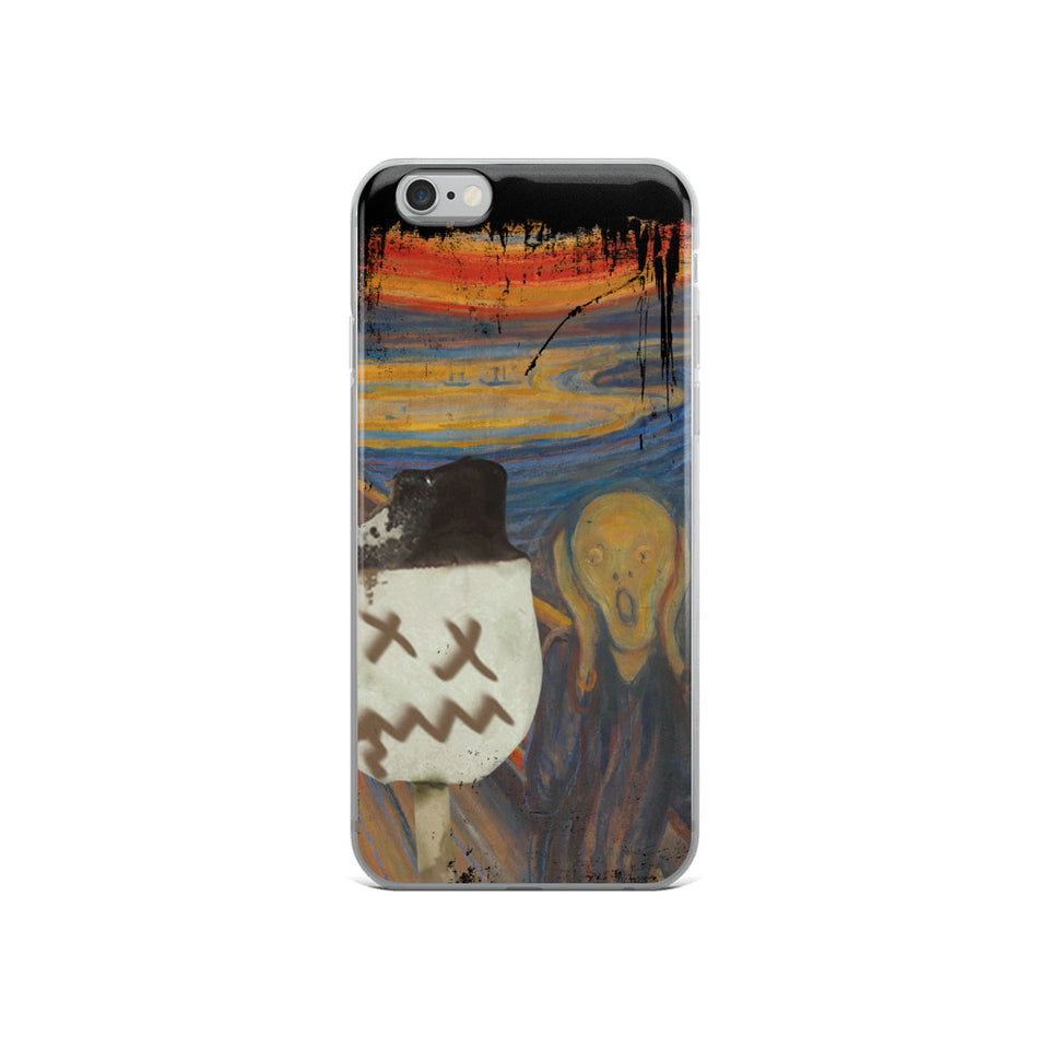 The Persian Scream iPhone Case