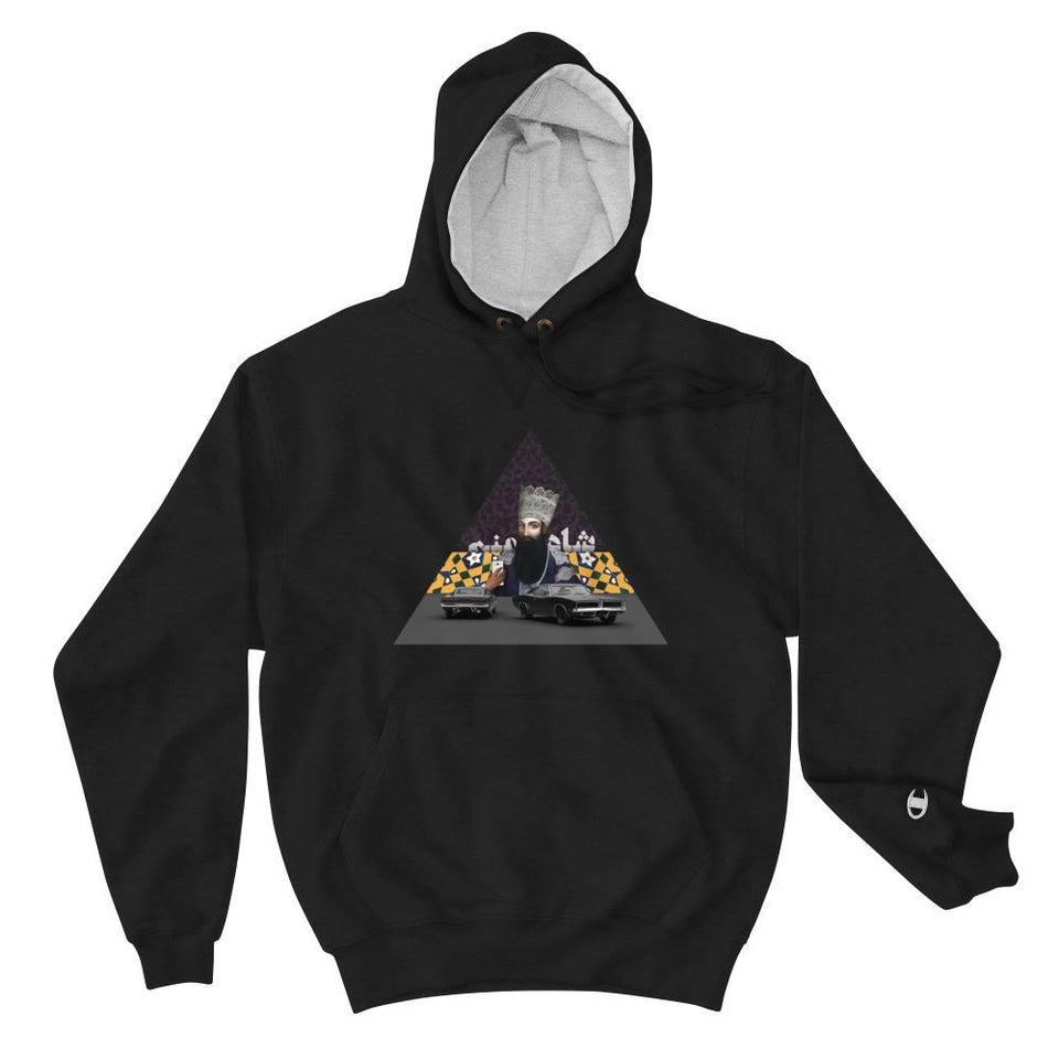 Im The King! (Champion Edition) - Black / S - Hoodie Geev Thegeev.com