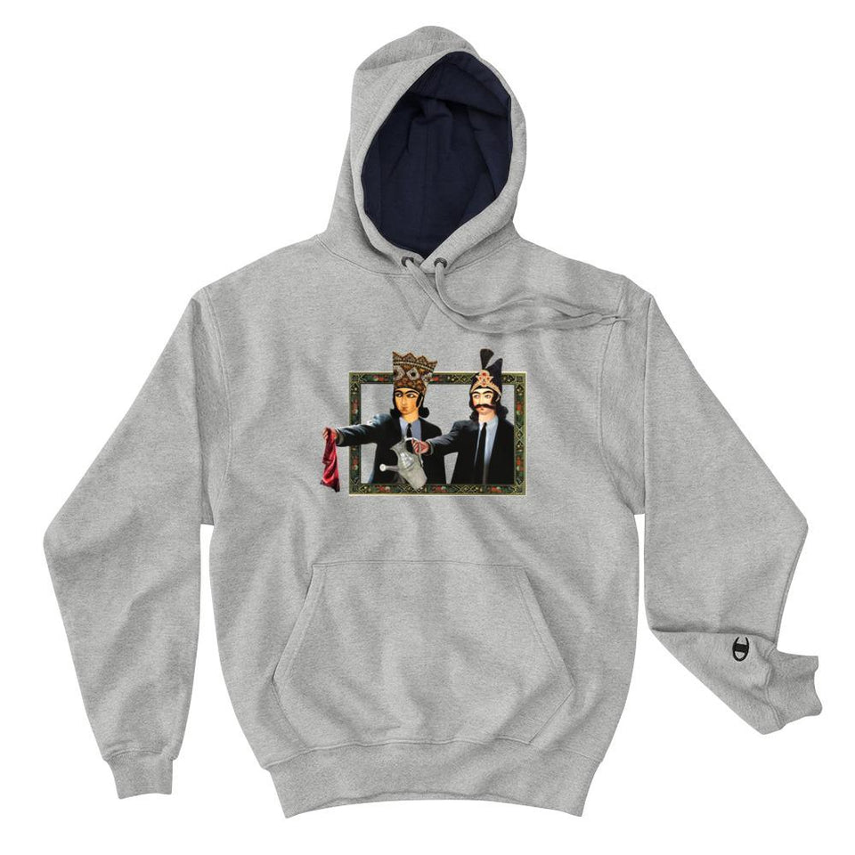Loong Fiction (Champion Edition) - Light Steel / S - Hoodie Geev Thegeev.com