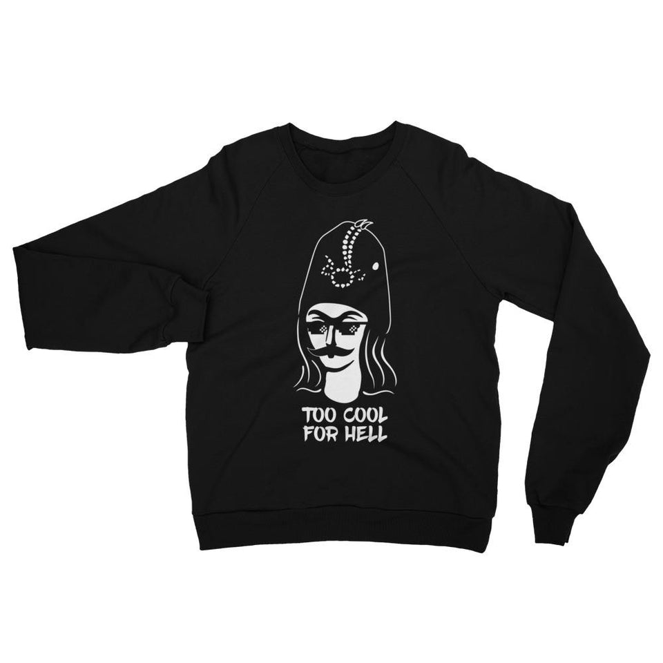 Too Cool For Hell Sweatshirt - Xs - Sweatshirt Geev Thegeev.com
