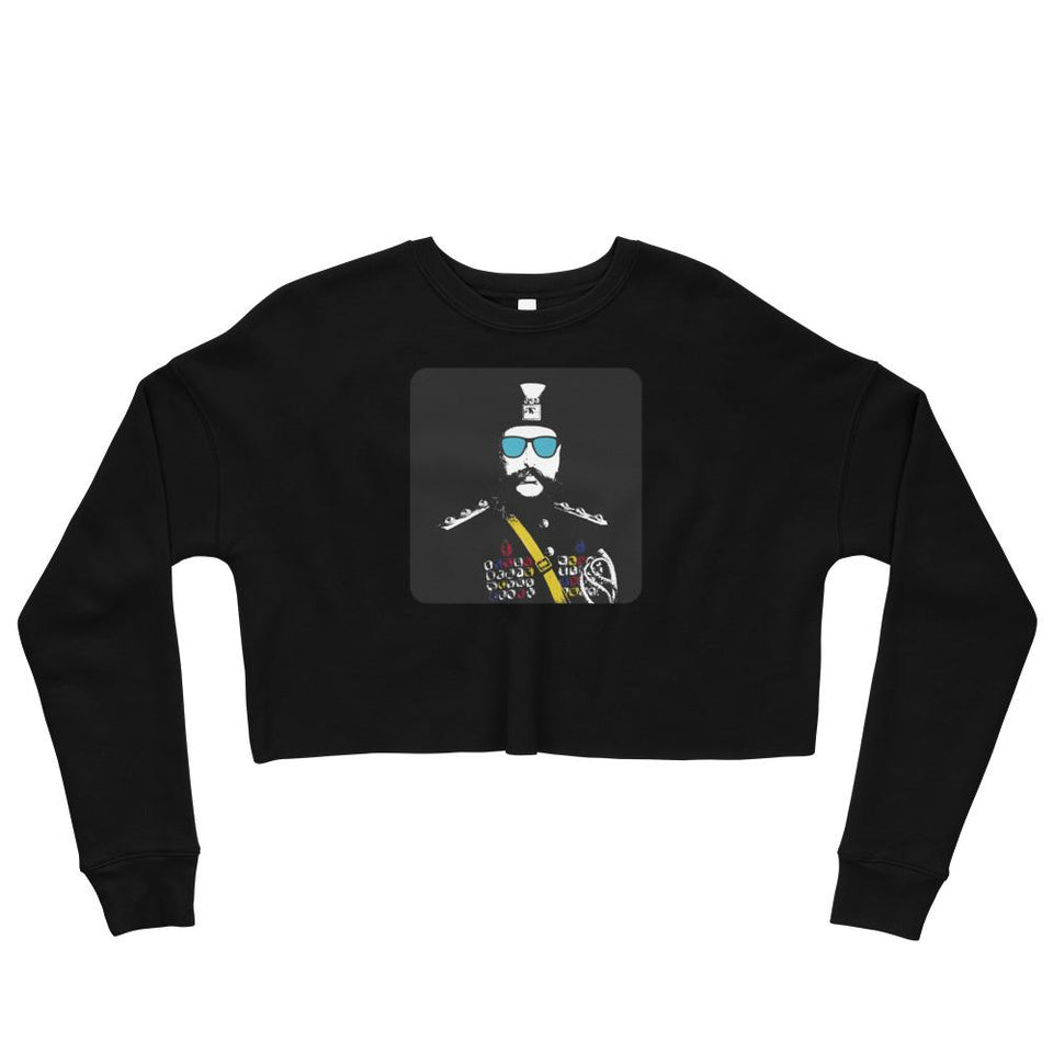 The Cool Shah Crop Sweatshirt - Black / S - Crop Sweatshirt Geev Thegeev.com