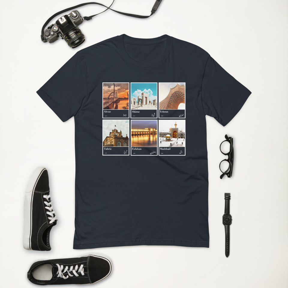 Six Cities of Motherland men's T-shirt