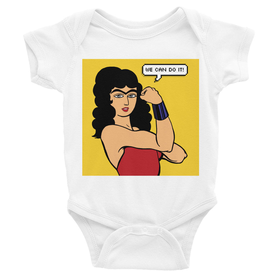 We Can Do it! (Farinaz) Infant Bodysuit