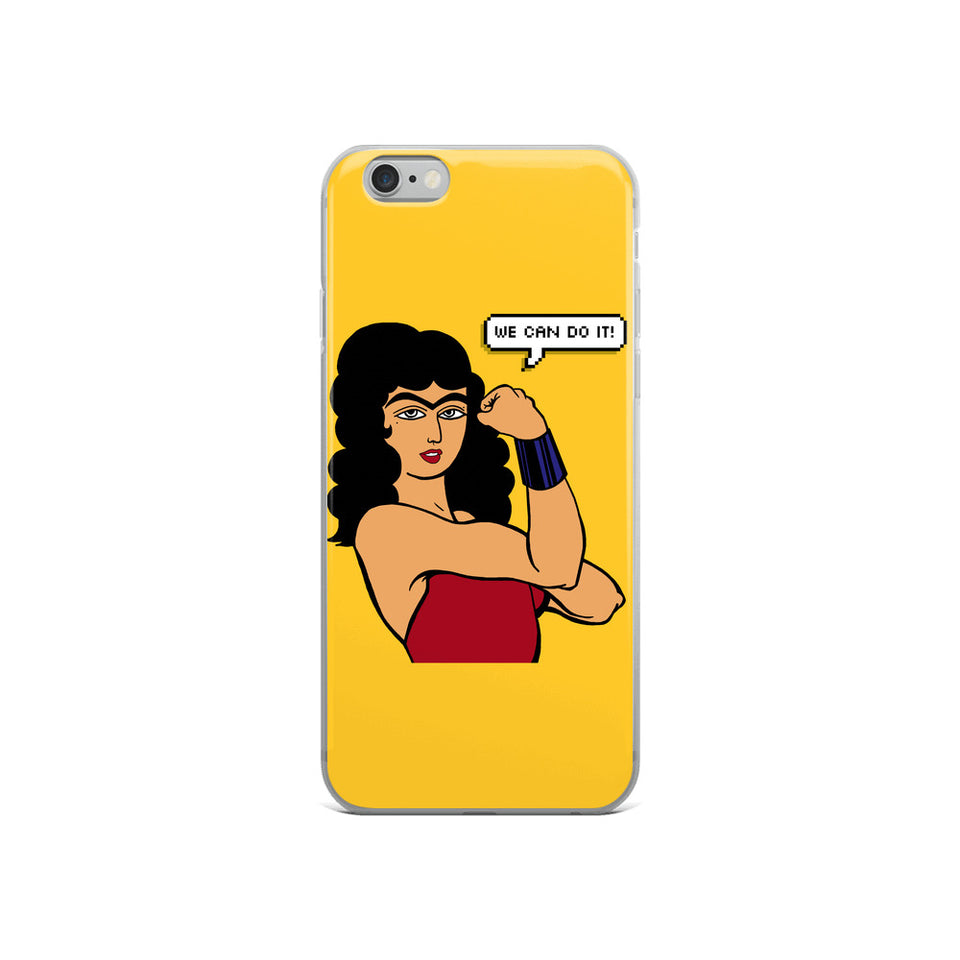 We Can Do It! (Farinaz) iPhone Case