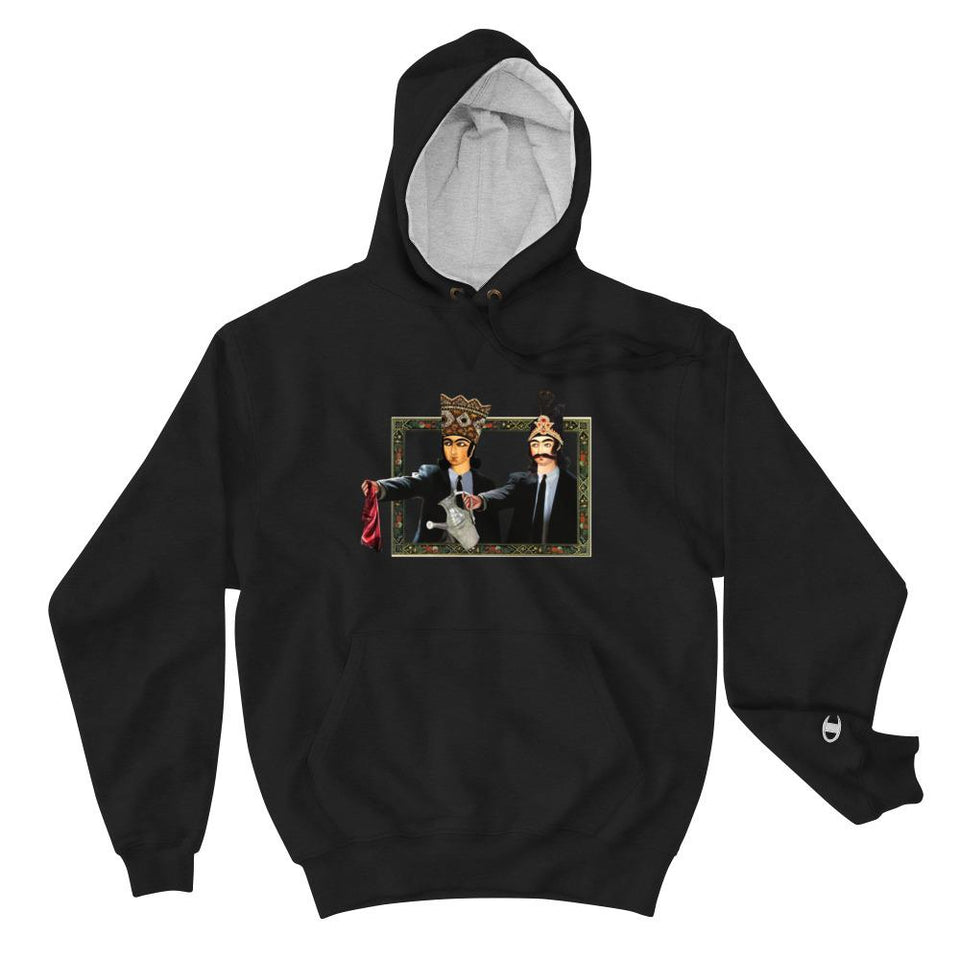Loong Fiction (Champion Edition) - Black / S - Hoodie Geev Thegeev.com