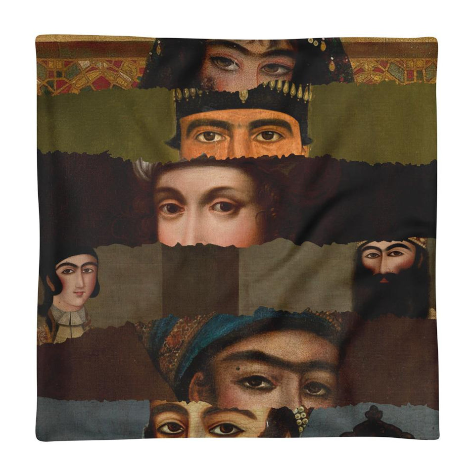 Faces - Pillow Case Geev Thegeev.com