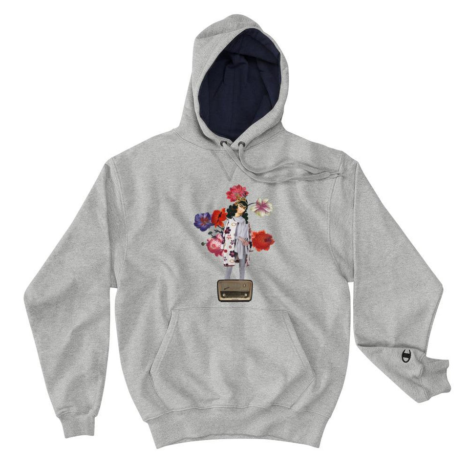 Radio (Champion Edition) - Light Steel / S - Hoodie Geev Thegeev.com