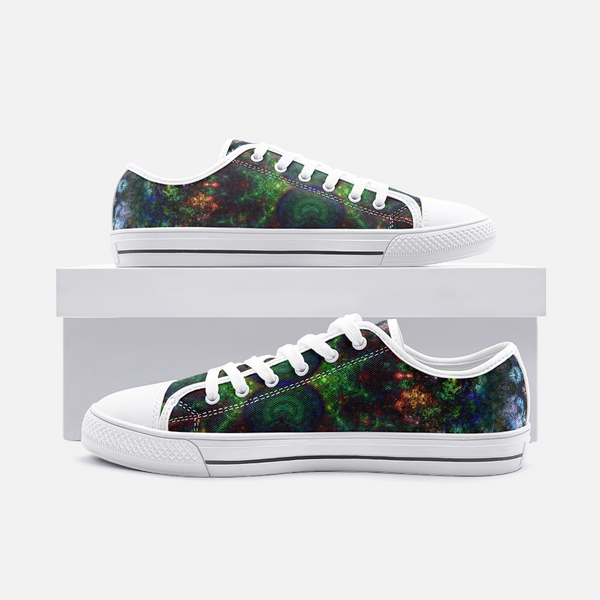 Epsilon Psychedelic Canvas Low-Tops