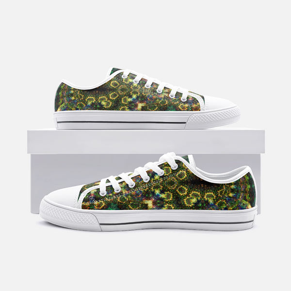 Xerxes Psychedelic Canvas Low-Tops