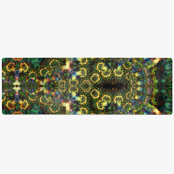 Xerxes Psychedelic Suede Anti-Slip Yoga Mat