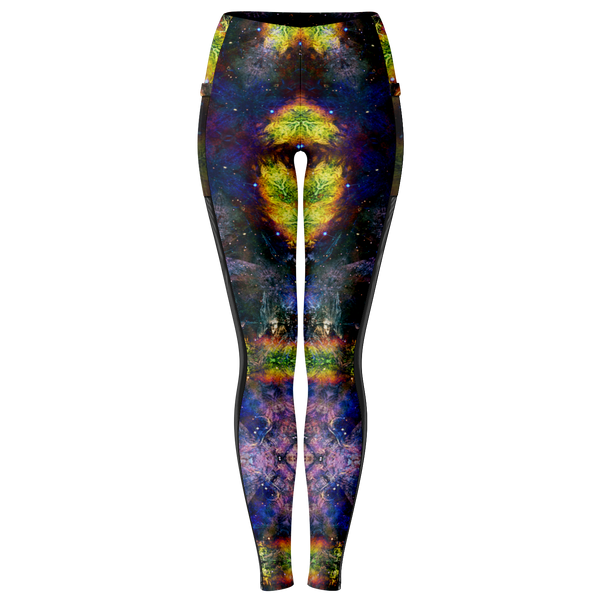 Nox Glow Psychedelic Mesh Pocket Leggings