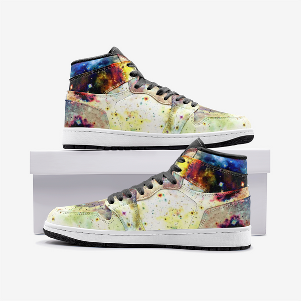 Lucien Psychedelic Full-Style High-Top Sneakers