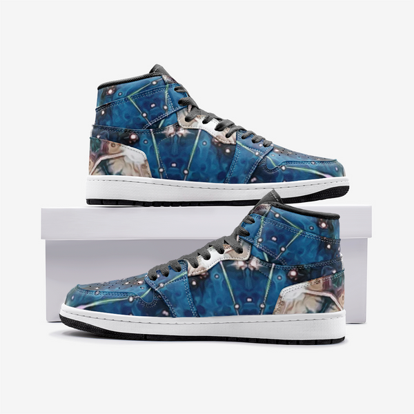 Beacon Psychedelic Full-Style High-Top Sneakers