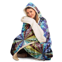 Ziggurat Collection Hooded Blanket - Heady & Handmade