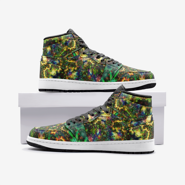 Xerxes Psychedelic Full-Style High-Top Sneakers