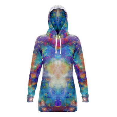 Acquiesce Collection Fleece-Lined Long Hoodie