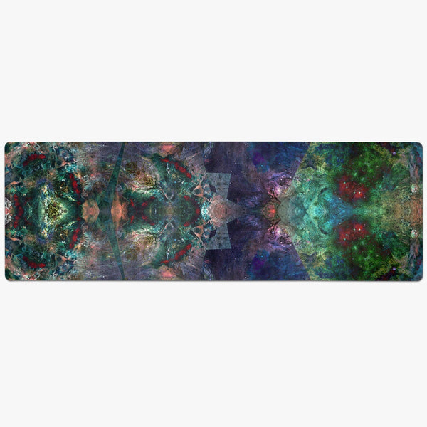 Valendrin Psychedelic Suede Anti-Slip Yoga Mat