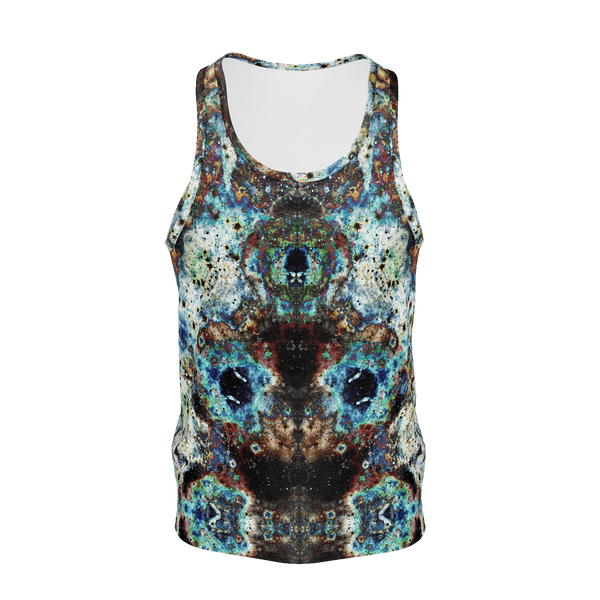 Lunix Psychedelic Men's Tank Top (Jersey Knit) - Heady & Handmade