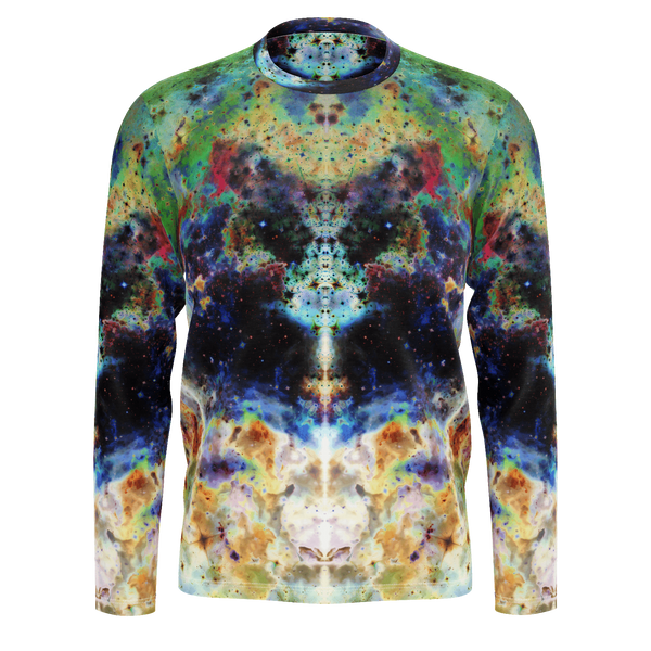 Acolyte Psychedelic Men's Long Sleeve (Pima Cotton) - Heady & Handmade