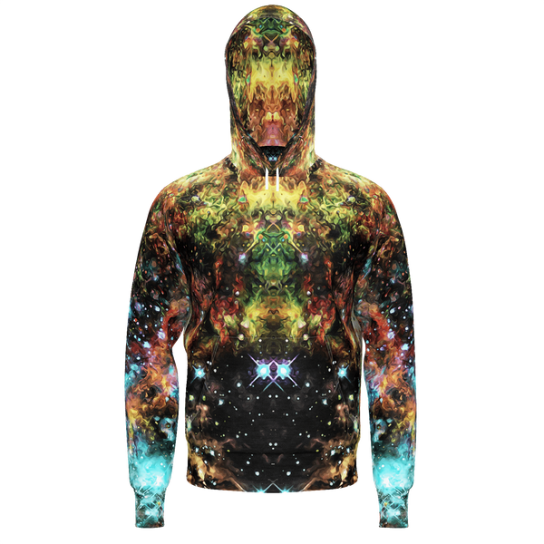 Fortuna Apothos Collection Men's Heavy Hoodie - Heady & Handmade