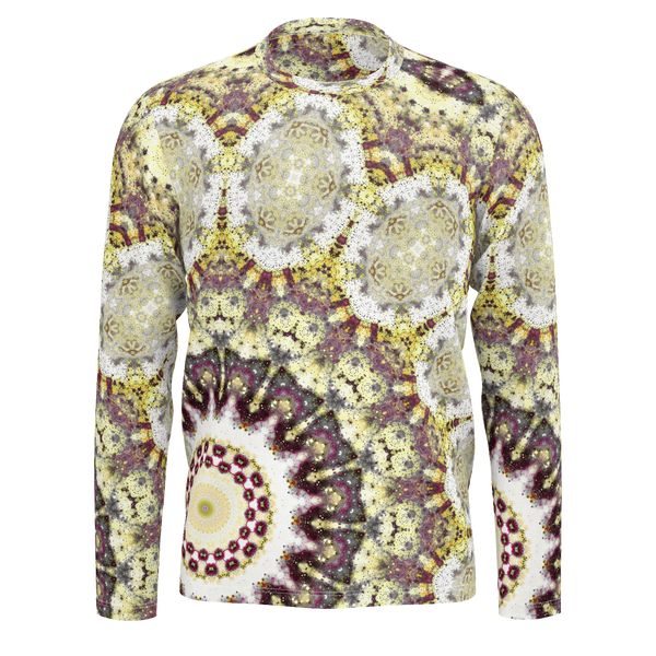 Alchemy Psychedelic Men's Long Sleeve (Pima Cotton) - Heady & Handmade
