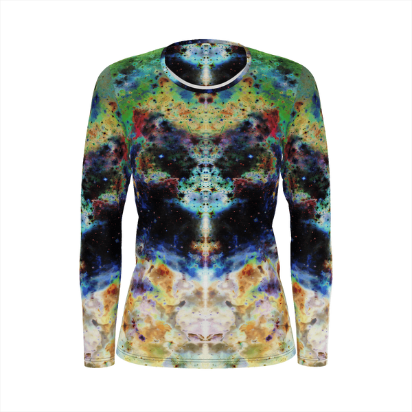 Acolyte Psychedelic Women's Long Sleeve (Jersey Knit) - Heady & Handmade