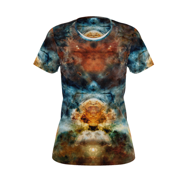 Sylas Psychedelic Women's Shirt (Jersey Knit) - Heady & Handmade