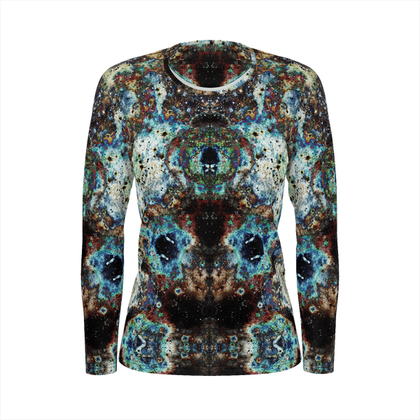 Lunix Psychedelic Women's Long Sleeve (Pima Cotton) - Heady & Handmade