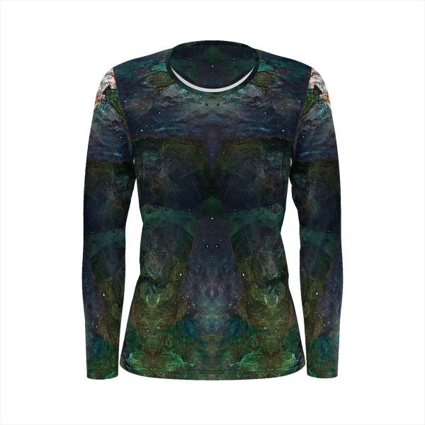 Pandora Psychedelic Women's Long Sleeve (Jersey Knit) - Heady & Handmade