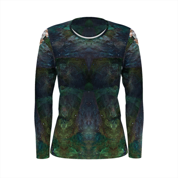 Pandora Psychedelic Women's Long Sleeve (Pima Cotton) - Heady & Handmade