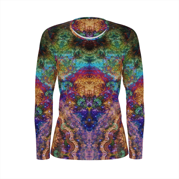 Unitas Psychedelic Women's Long Sleeve (Jersey Knit) - Heady & Handmade