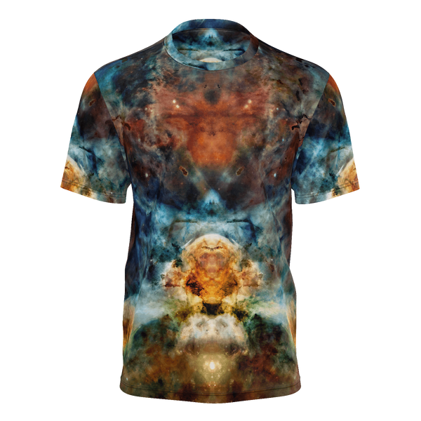 Sylas Psychedelic Men's Shirt (Jersey Knit) - Heady & Handmade