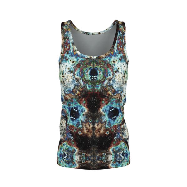 Lunix Psychedelic Women's Tank Top (Pima Cotton) - Heady & Handmade