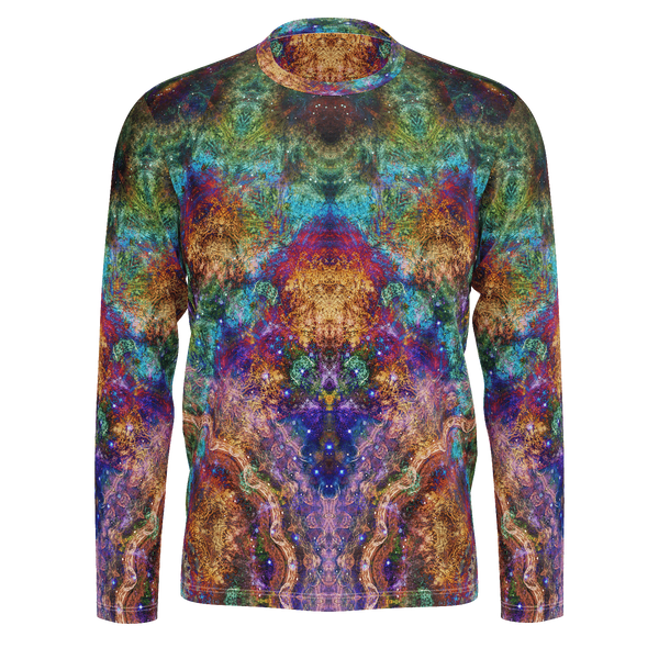 Unitas Psychedelic Men's Long Sleeve (Pima Cotton) - Heady & Handmade