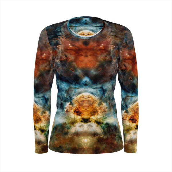 Sylas Psychedelic Women's Long Sleeve (Pima Cotton) - Heady & Handmade