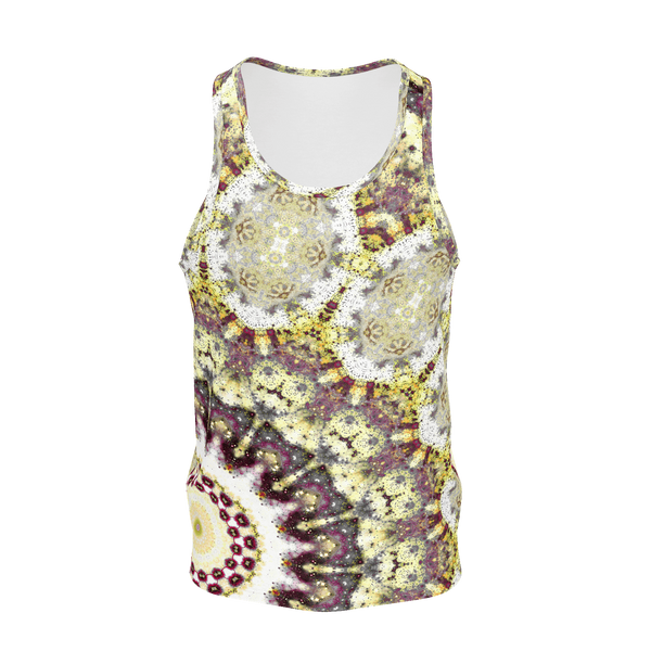 Alchemy Psychedelic Men's Tank Top (Jersey Knit) - Heady & Handmade