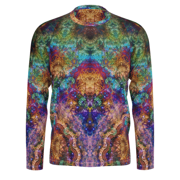 Unitas Psychedelic Men's Long Sleeve (Jersey Knit) - Heady & Handmade