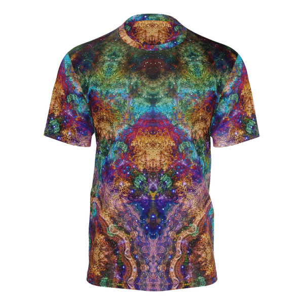 Unitas Psychedelic Men's Shirt (Jersey Knit) - Heady & Handmade