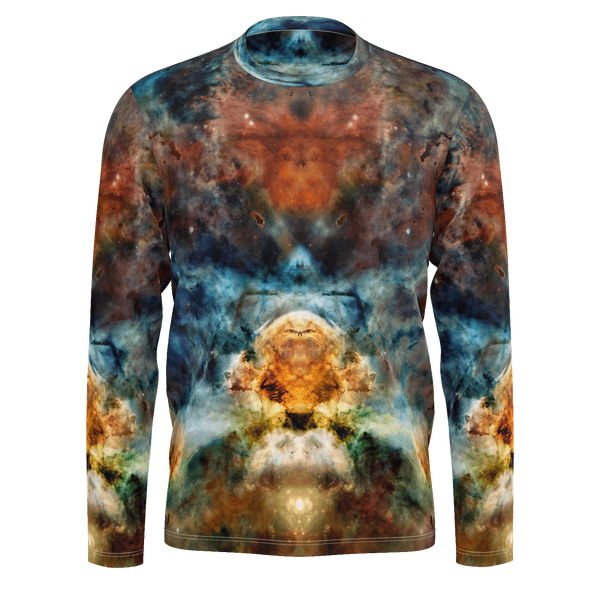Sylas Psychedelic Men's Long Sleeve (Pima Cotton) - Heady & Handmade