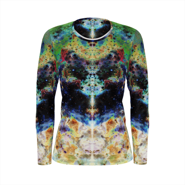 Acolyte Psychedelic Women's Long Sleeve (Pima Cotton) - Heady & Handmade