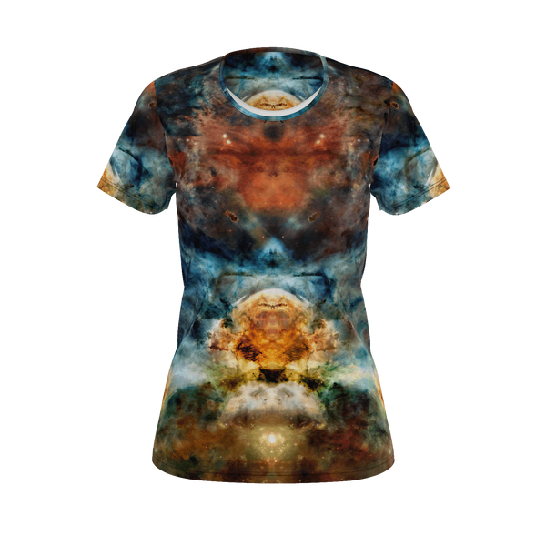 Sylas Psychedelic Women's Shirt (Pima Cotton) - Heady & Handmade
