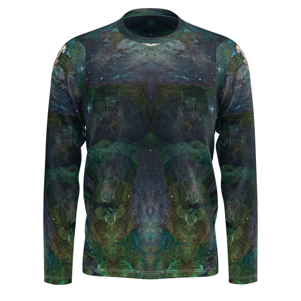Pandora Psychedelic Men's Long Sleeve (Jersey Knit) - Heady & Handmade
